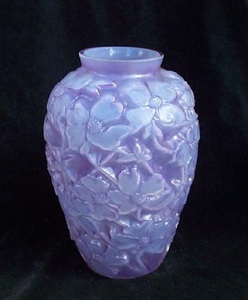 Purple Cased Dogwood Vase